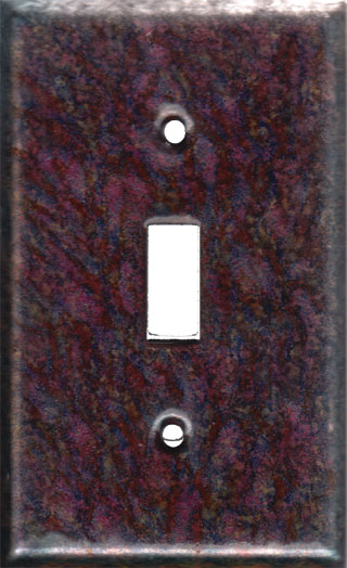 Enamel decorative switch plate covers styles Light switch plates decorative