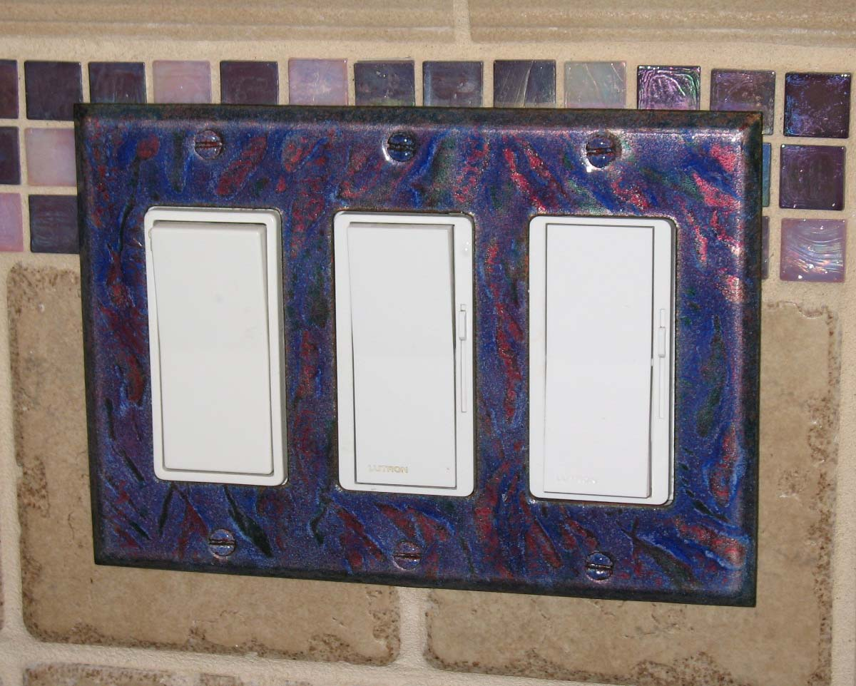 Decorative Wall Face Plates Dimensional Colors Installed Decorative Switch Plates