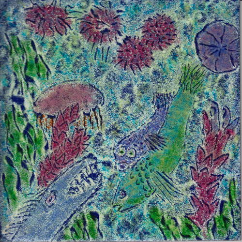 Enamel  Art DecorativeTtile: Sea Life